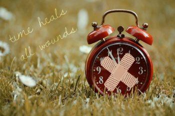 Zeit heilt alle Wunden