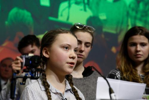 Persönlichkeitsentwicklung zum Mitverfolgen - Grete Thunberg