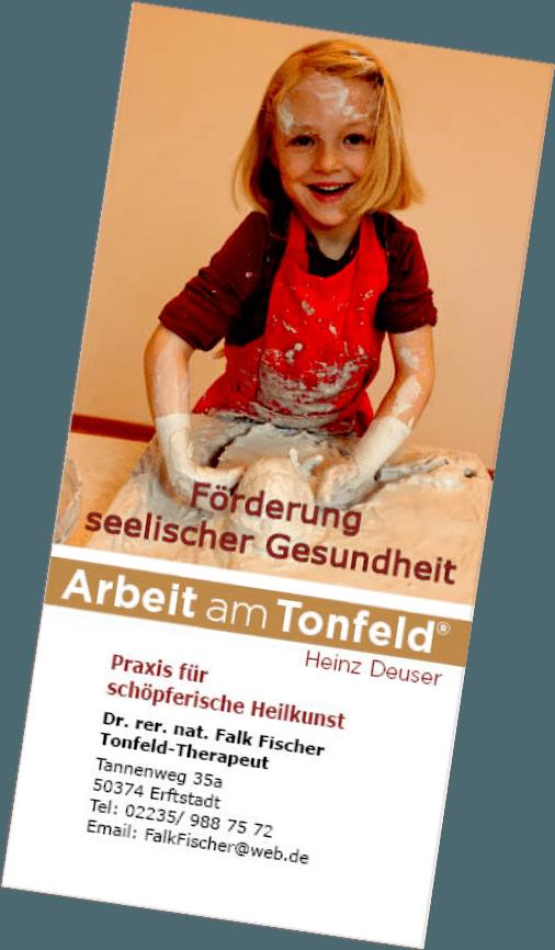 Kinderflyer zur Arbeit am Tonfeld